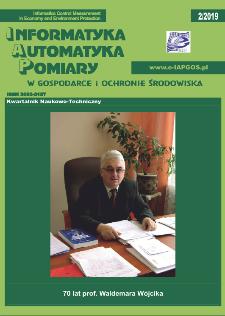 Informatyka Automatyka Pomiary w Gospodarce i Ochronie Środowiska 2/2019