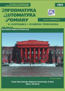 Informatyka Automatyka Pomiary w Gospodarce i Ochronie Środowiska 1/2019