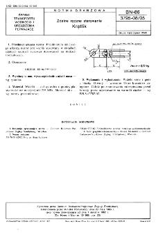 Zdalne ręczne sterowanie - Krętlik BN-86/3795-08/05