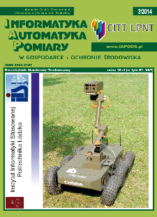Informatyka Automatyka Pomiary w Gospodarce i Ochronie Środowiska 3/2014