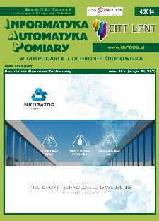 Informatyka Automatyka Pomiary w Gospodarce i Ochronie Środowiska 4/2014