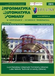 Informatyka Automatyka Pomiary w Gospodarce i Ochronie Środowiska 2/2015