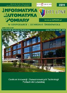 Informatyka Automatyka Pomiary w Gospodarce i Ochronie Środowiska 2/2016