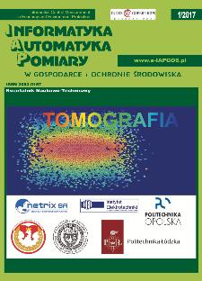 Informatyka Automatyka Pomiary w Gospodarce i Ochronie Środowiska 1/2017