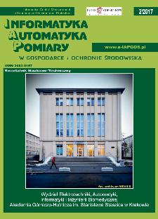 Informatyka Automatyka Pomiary w Gospodarce i Ochronie Środowiska 2/2017