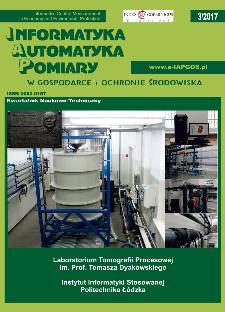 Informatyka Automatyka Pomiary w Gospodarce i Ochronie Środowiska 3/2017