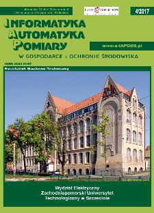Informatyka Automatyka Pomiary w Gospodarce i Ochronie Środowiska 4/2017