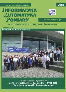 Informatyka Automatyka Pomiary w Gospodarce i Ochronie Środowiska 2/2018