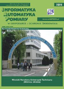 Informatyka Automatyka Pomiary w Gospodarce i Ochronie Środowiska 3/2018