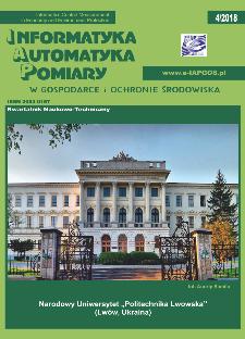 Informatyka Automatyka Pomiary w Gospodarce i Ochronie Środowiska 4/2018