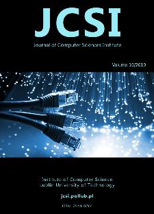JCSI Journal of Computer Sciences Institute Vol. 10/2019