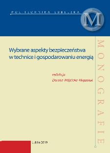 Wybrane aspekty bezpieczeństwa w technice i gospodarowaniu energią