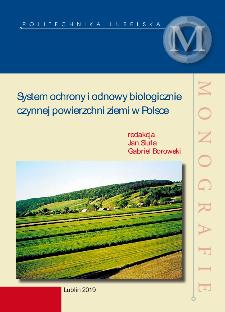 System ochrony i odnowy biologicznie czynnej powierzchni ziemi w Polsce