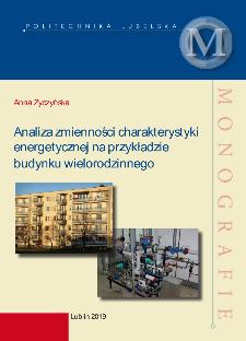 Analiza zmienności charakterystyki energetycznej na przykładzie budynku wielorodzinnego