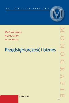 Przedsiębiorczość i biznes