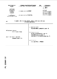 Urządzenie do skróconego startu i lądowania statku powietrznego, zwłaszcza wiatrakowca : opis patentowy nr 228491