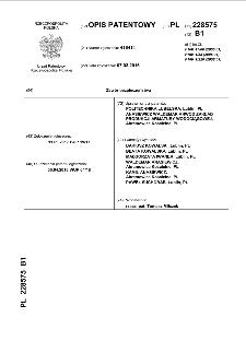 Zawór bezpieczeństwa : opis patentowy nr 228575