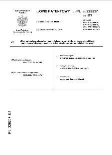 Układ automatycznej regulacji napięć katody i anody źródła elektronów i stabilizacji napięcia przyśpieszającego elektrony i natężenia prądu termoemisji elektronowej: opis patentowy nr 22823