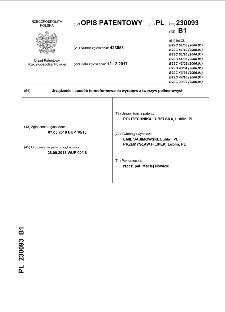 Urządzenie i sposób termoformowania wyrobów z tworzyw polimerowych : opis patentowy nr 230093