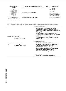 Sposób wytwarzania warstwy rekultywacyjnej na składowisku odpadów powiertniczych: opis patentowy nr 230230