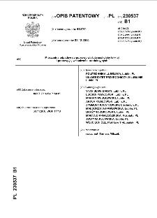 Mieszanina odpadów do poprawy właściwości gleby lekkiej i poprawy jej właściwości produkcyjnych : opis patentowy nr 230537