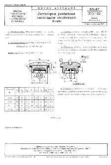 Zamknięcia pokładowe rurociągów okrętowych - Wkrętki BN-87/3731-22