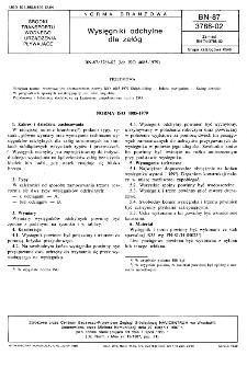 Wysięgniki odchylne dla załóg BN-87/3786-02