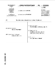Szczotka do usuwania zadziorów z krawędzi kół zębatych : opis patentowy nr 232299