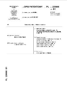 Sposób stymulacji kiełkowania nasion : opis patentowy nr 229666
