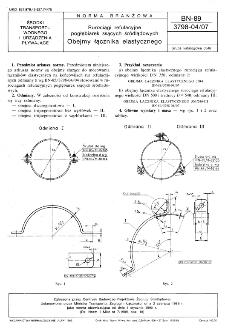 Rurociągi refulacyjne pogłębiarek ssących śródlądowych - Obejmy łącznika elastycznego BN-89/3798-04/07