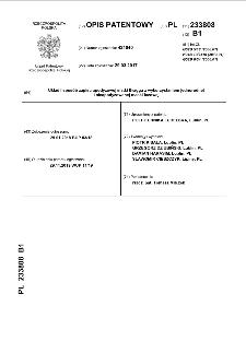 Układ i sposób zapisu apodyzowej siatki Bragga z wykorzystaniem jednorodnej i nieapodyzowanej maski fazowej : opis patentowy nr 233808
