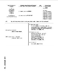 Sposób wytwarzania kruszywa lekkiego z popiołów lotnych i kruszywo lekkie : opis patentowy nr 234361