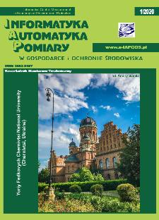 Informatyka Automatyka Pomiary w Gospodarce i Ochronie Środowiska 1/2020