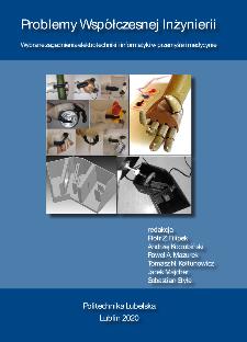 Wybrane zagadnienia elektrotechniki i informatyki w przemyśle i medycynie