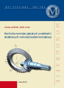 Kontrola montażu zębatych przekładni stożkowych metodą bezdemontażową