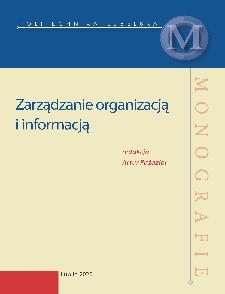 Zarządzanie organizacją i informacją
