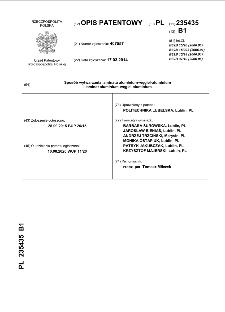 Sposób wytwarzania laminatu aluminium-węgiel-aluminium i laminat aluminium-węgiel-aluminium : opis patentowy nr 235435