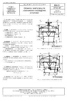 Głowice wentylacyjne nawiewowo-wyciągowe okrętowe BN-91/3723-07