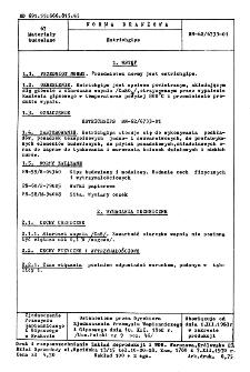 Estrichgips BN-62/6733-01
