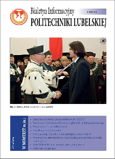 Biuletyn Informacyjny Politechniki Lubelskiej 3(31)2012