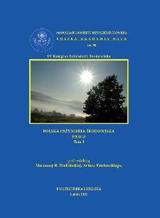 Polska Inżynieria Środowiska : prace. Tom 1