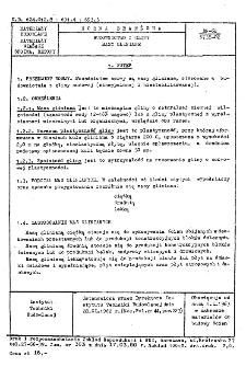 Budownictwo z gliny - Masy gliniane BN-62/6738-02