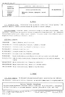 Beton hydrotechniczny - Składniki betonu - Wymagania techniczne BN-62/6738-03