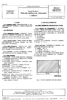 Krawężniki uliczne - Warunki techniczne ustawiania i odbioru BN-64/8845-02