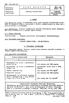 Zaprawa termalitowa BN-65/6757-01