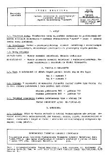 """Pustaki ceramiczne do prefabrykacji elementów ściennych (system dwuwarstwowy """"cerbet"""") BN-72/6741-15"""