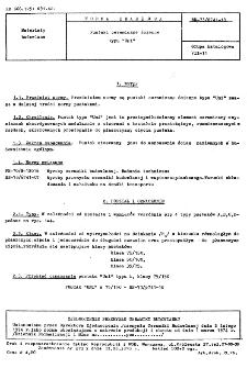 """Pustaki ceramiczne ścienne typu """"Uni"""" BN-73/6741-18"""