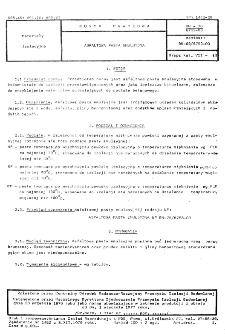 Asfaltowa pasta emulsyjna BN-76/6753-03