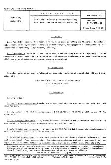 Materiały izolacji przeciwwilgociowej - Papa asfaltowa na tkaninie technicznej BN-79/6751-02