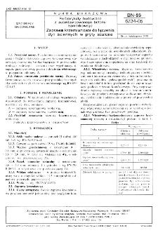 Prefabrykaty budowlane z autoklawizowanego betonu komórkowego - Zaprawa krzemianowa do łączenia dyli ściennych w płyty scalone BN-88/6734-05
